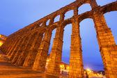 Old Roman Aqueduct in Segovia — Stock Photo