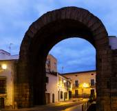 Arch of Trajan of Merida — Stock Photo