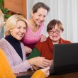 Women making site — Stock Photo #64298351