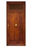 старинная деревянная дверь — Стоковое фото