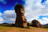 Rocks at Alto Tajo in autumn — Foto de Stock