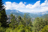 Summer view of Pyrenees mountains   — Stock Photo