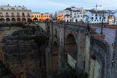Ronda con Puente Nuevo — Foto de Stock