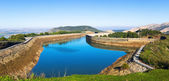 Day view of   Guadalhorce-Guadalteba reservoirs — Stock Photo