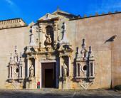 Royal Abbey of Santa Maria de Poblet — Stock Photo