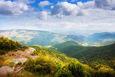 Pyrenees mountains in summer  — Stock Photo