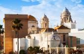 Antigua catedral de cádiz — Foto de Stock