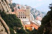 Santa maria de abadia de montserrat — Fotografia Stock