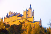 Autumn  view of Alcazar of Segovia — 图库照片