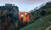 Ronda with Puente Nuevo bridge — Stock Photo
