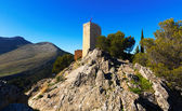 Saint Catherine Castle  in Jaen.  Spain — Stock Photo