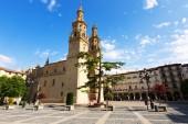 Co-Cathedral of Saint Maria de la Redonda — Stock Photo