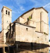 Iglesia de santiago el real de logroño — Foto de Stock