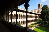 Монастырь, монастырь Pedralbes в Барселоне — Стоковое фото