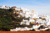 Residential districts in spanish town  — Stock Photo