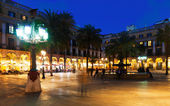 Placa Reial in Barcelona — Stock Photo
