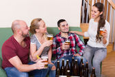 Friends having fun together — Stock Photo