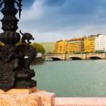 Maria Cristina bridge over Urumea. — Stock Photo #72140789