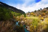 Tajo river in autumn — Stock Photo