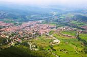 Town in Pyrenees. Berga — Stock Photo