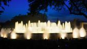 фонтан монжуик в барселоне — Стоковое фото
