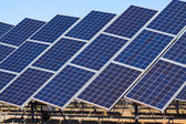 Power  solar panels — Stock Photo