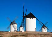 Wind mills at Campo de Criptana — Foto de Stock