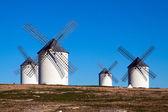 风车在坎波德克 — 图库照片