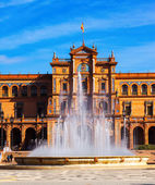 Plaza de Espana, Fontain — Stok fotoğraf