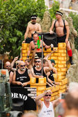 Gay pride parade in Sitges — Stock Photo