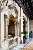 Interior of of Ajuntament de Barcelona — Stockfoto