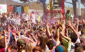 Festival Holi in Barcelona — Stock Photo