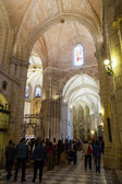 Interior of Cathedral  of Saint Mary in Murcia — Stock Photo