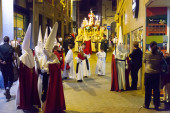 Procession during Holy Week — Stock Photo