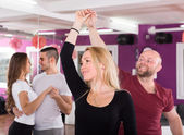 People having dancing class — Stock Photo