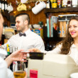 People working in a bar — Stock Photo #72176205