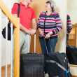 Mature couple  going on holiday — Stock Photo #75035067