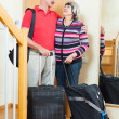 Mature  tourists with luggage — Stock Photo #75035083