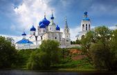 Orthodoxy monastery at Bogolyubovo — Stock Photo