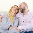 Loving couple  in home interior — Stock Photo #75042181