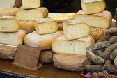 パックで別のチーズ — ストック写真