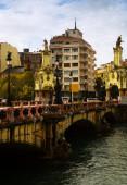 Maria Cristina bridge over Urumea. — Stock Photo