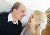 Portrait of loving senior spouses — Stock Photo