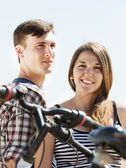 Young couple having rest — Stock Photo