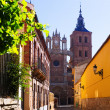 Street and Cathedral of Astorga — Stock Photo #83234054