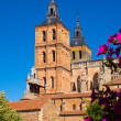 Cathedral at Astorga in summer day time — Stock Photo #83235344