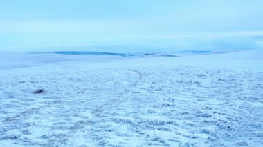Восход солнца timelapse в горах Эльбрус, северный Кавказ, Россия. Full Hd — Стоковое видео