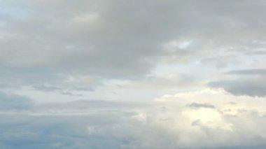 Bozkır, bulutlarda hareketin Rostov region, Rusya Federasyonu, (zaman atlamalı) Full Hd — Stok video