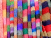 Nepalese national fabric — Stock Photo