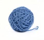 Skein of woolen thread — Stock Photo
